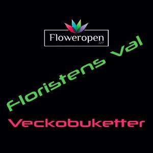 Floristens Val - Veckobuketter