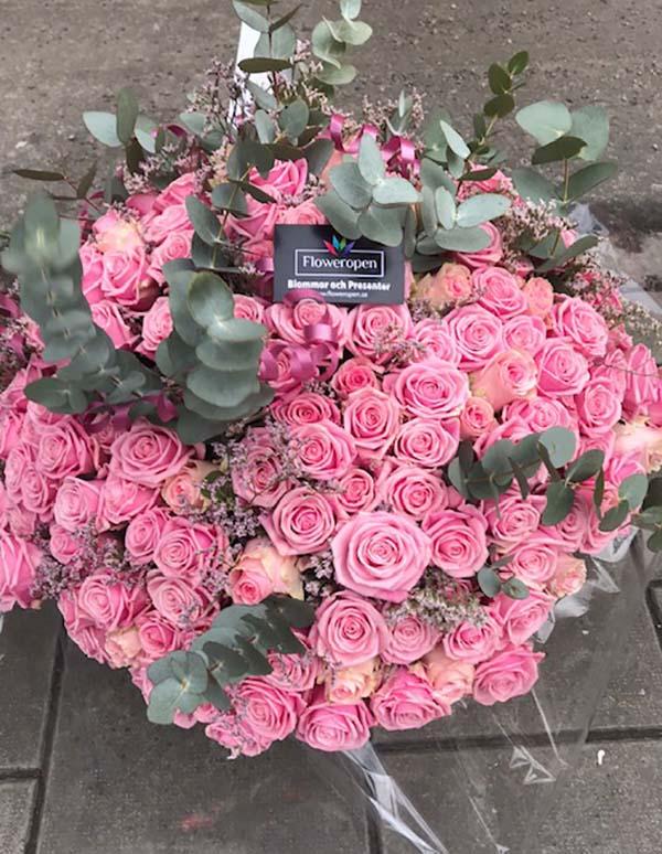 FlowerOpen - Utomlands